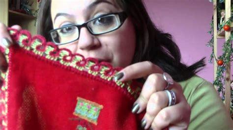 Mini Mantel Navidad A Punto De Cruz Youtube | mini mantel navidad a punto de cruz youtube