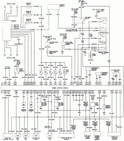 wiring diagram 96 toyota camry wiring diagram with