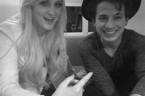 charlie puth and girlfriend charlie puth s new single will feature meghan trainor
