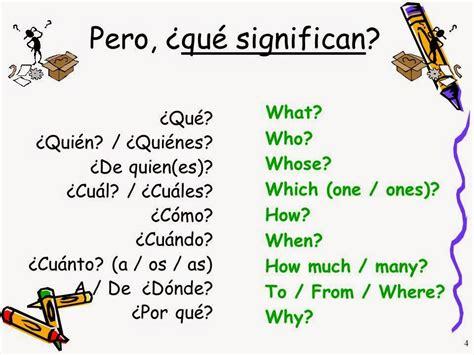 preguntas en ingles traductor wh questions palabras para hacer preguntas who what