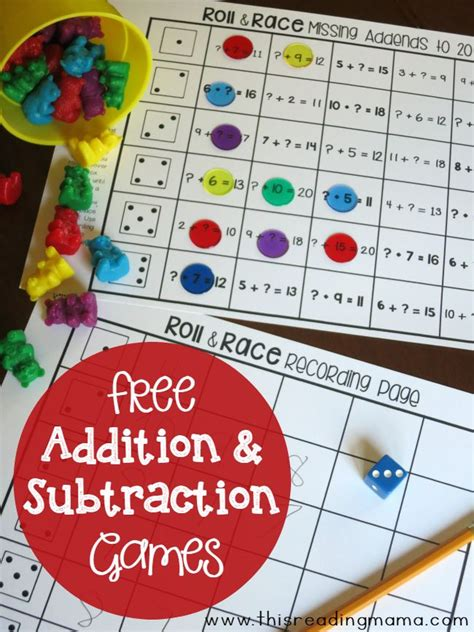 classroom math games that kids will love that make math games for 10th graders worksheet on adding 8