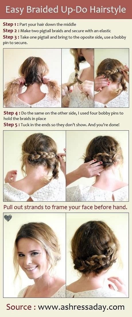 really easy and simple hairstyles really cute easy hairstyles