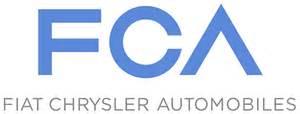 Fca Fiat Chrysler Automobiles Fca Fiat Chrysler Automobiles Logo