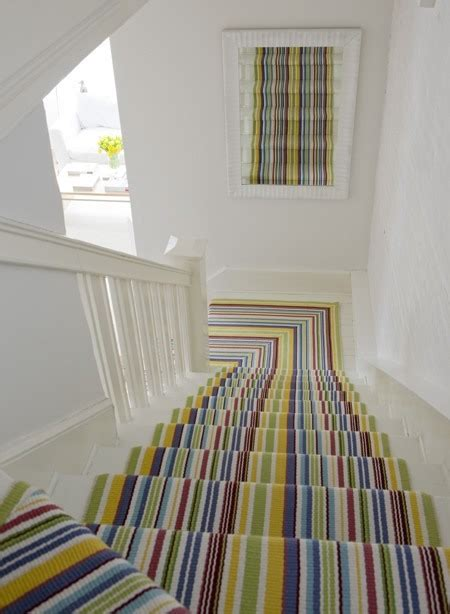 Stripe Stair Runner by 15 Fabulous Stair Runners And One That Isn T Diy Doctor