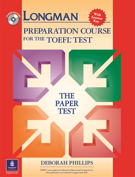Longman Preparation Course For Toefl Test Paper Test W Murah Toefl Product Details Pearson Elt Usa