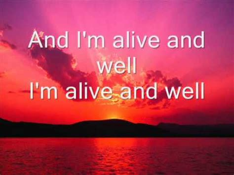 Kenny Chesney Im Not by Kenny Chesney I M Alive Lyrics