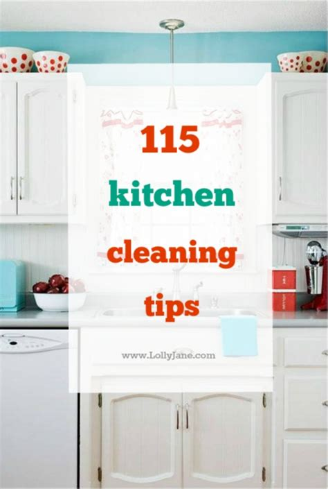 10 kitchen cleaning tips menclean com free cleaning checklist dirty little secret lolly jane