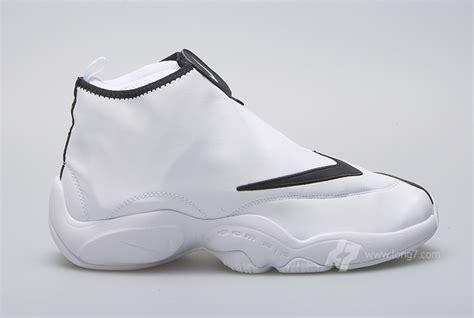 nike zipper sneakers nike air zoom flight the glove sl white black