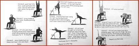 printable chair yoga poses chair yoga chair yoga pinterest