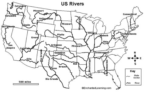 printable map of the united states with rivers us rivers map printable thempfa org