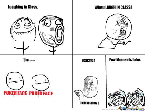 In Class Meme - laughing in class by itsmethetroller meme center