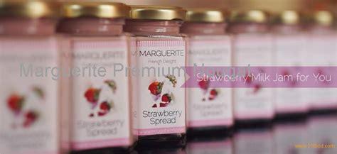 Marguerite Green Tea Spread 105gr strawberry milk spread products indonesia strawberry milk