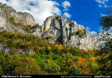 Spruce Knob Seneca Rocks National Recreation Area by Seneca Rocks Picture 006 October 4 2008 From Spruce