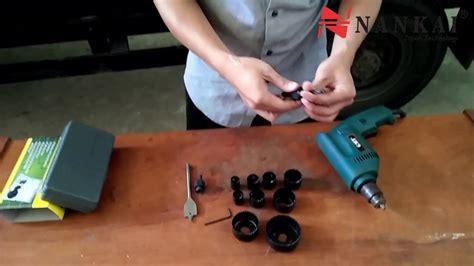 Holesaw 13pc Untuk Kayu Pvc Hydroponic cara penggunaan holesaw kit 13pc