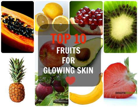 vegetables for skin top 10 fruits for glowing skin caloriebee