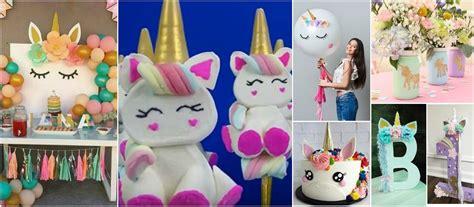 como decorar fiesta de unicornio 9 ideas para decorar y hacer bombones de unicornio para tu