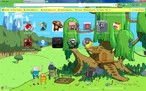 themes google chrome adventure time chrome themes rlq studios