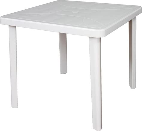 tavoli plastica giardino tavolo da giardino in plastica areta nettuno arredo