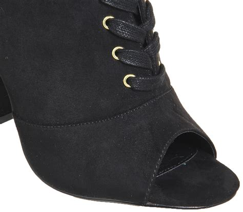 2 Die 4 Antoinette Ankle Boot by Office Antoinette Lace Up Boots Black Ankle Boots