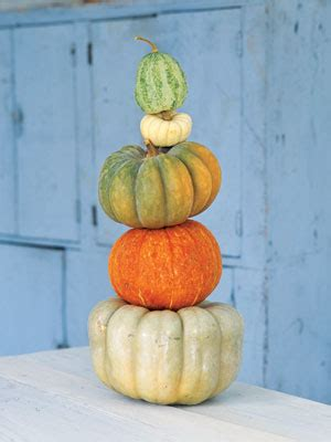 Pumpkin Tower Decoration by Pumpkin Decorating Ideas