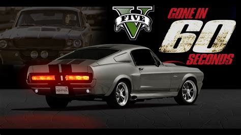 mustang shelby in 60 seconds 1967 shelby mustang gt500 in 60 seconds www