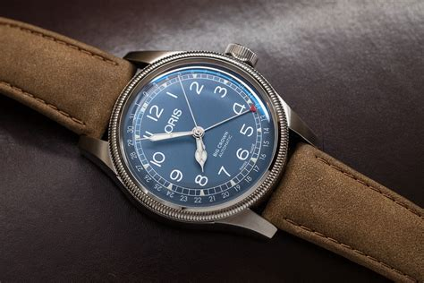 Oris Big Crown Pointer Date introducing the oris big crown pointer date in blue and