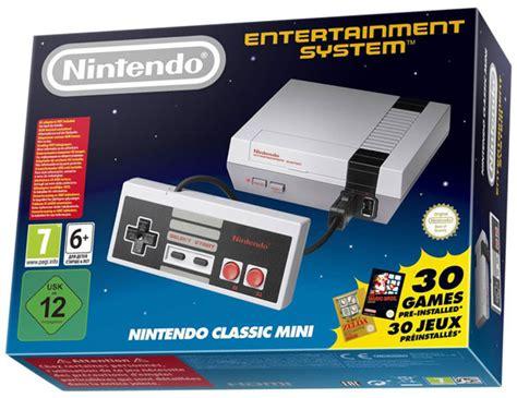 Nintendo Nes Classic Mini la nintendo classic mini nes est disponible le mag
