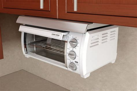 under cabinet toaster oven white adding under cabinet toaster ovens in your kitchen space