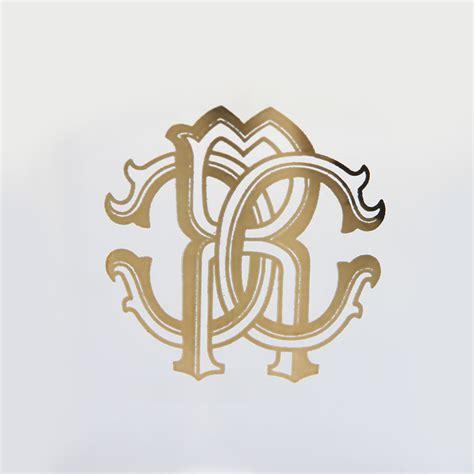 monogram barware buy roberto cavalli monogram highball glasses set of 6