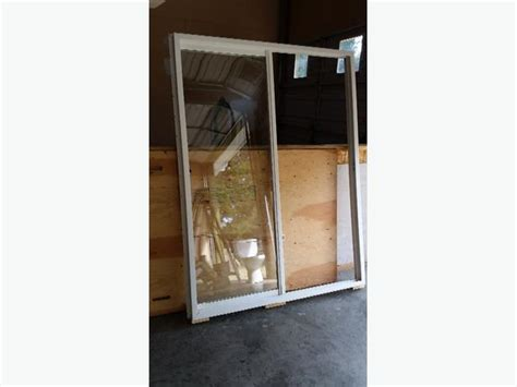 5 foot sliding glass door never installed 5 foot wide vinyl sliding glass patio door