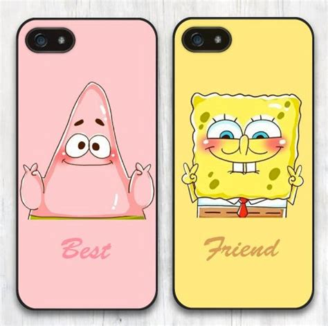 Squarepants Iphone All Hp matching best friends spongebob squarepants by casecabana