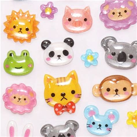 3 D Sticker by 3d Stickers With Animals From Japan Sticker