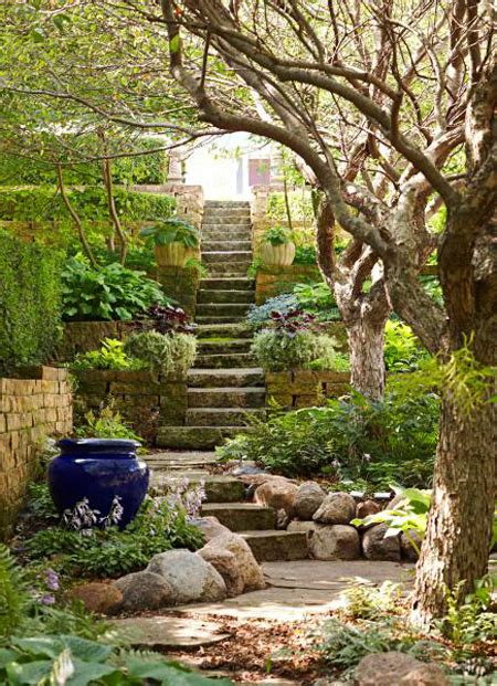 garden ideas sloped backyards hillside landscaping ideas for a sloped backyard