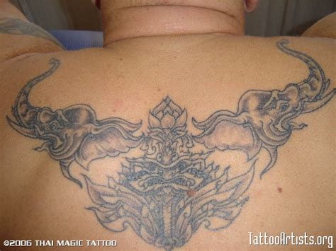 magical tattoos thai magic chiangmai thailand artists org