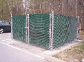 Dumpster Enclosure by Dumpster Enclosures Round Hill Fence