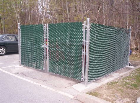 dumpster enclosure dumpster enclosures round hill fence
