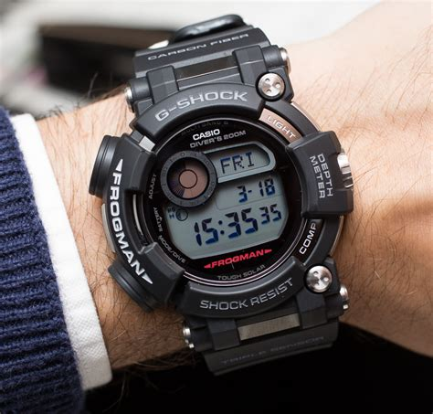 G Shock Frogman Gwf D1000 1 casio g shock frogman gwf d1000 on the ultimate
