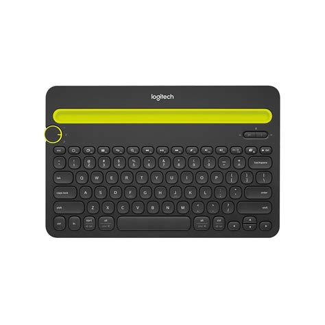 Logitech K480 Bluetooth Keyboard logitech k480 tablet wireless bluetooth keyboard black