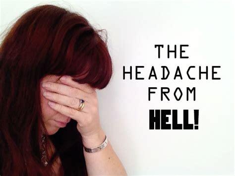 Headache From Hell the headache from hell zinc moon