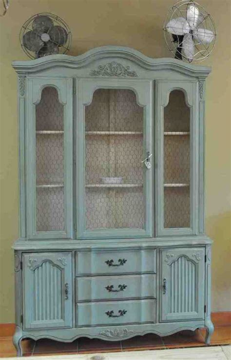 painted china cabinet home furniture design