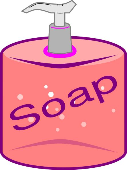 soap clipart soap bottle clip at clker vector clip