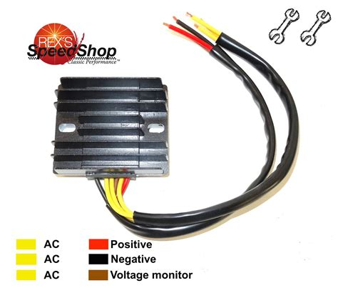 4 wire 2 phase motorcycle regulator rectifier wiring