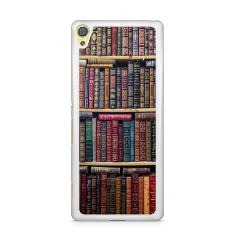 bookshelf phone cover back shockproof protector
