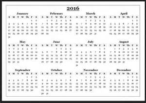 2016 year calendar printable calendar picture templates