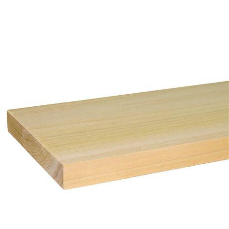 builder s choice 1 in x 6 in x 8 ft s4s poplar board
