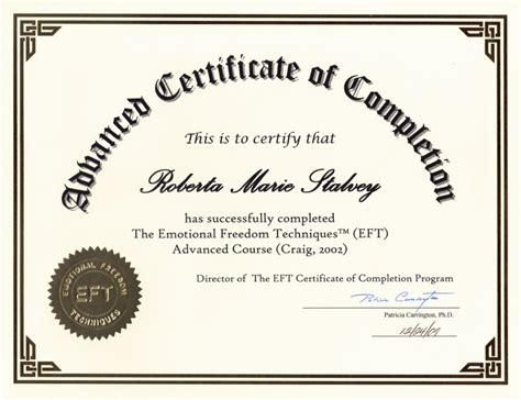 certification of completion template completion certificates certificate templates