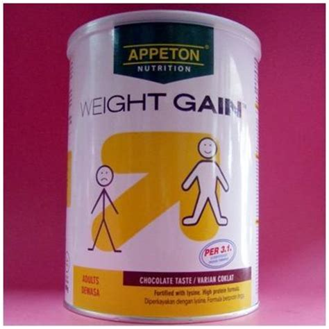 Kisaran Appeton Weight Gain appeton weight gain 900g ch end 2 14 2017 6 15 pm