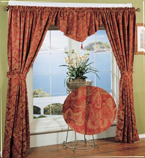 curtains in a bag window in a bag curtain set jacquard carnival 5pcs new