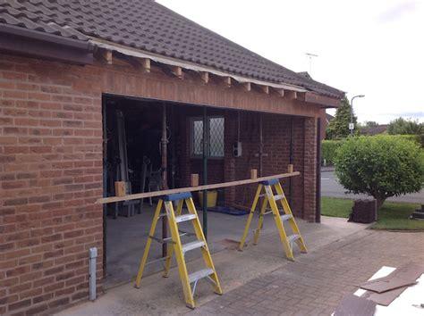 Garage Door Conversions Case Studies Lgds Garage Door Lintel