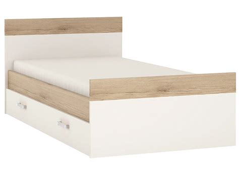 toddler bed with drawers underneath abdabs furniture 4 kids single bed with under drawer
